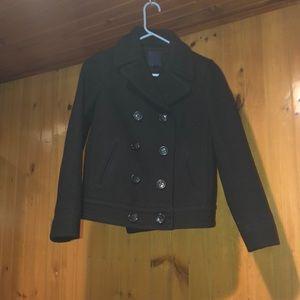 Gap size XS pea coat blazer